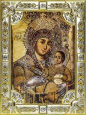 Вифлеемская икона БМ (18х24), серебро