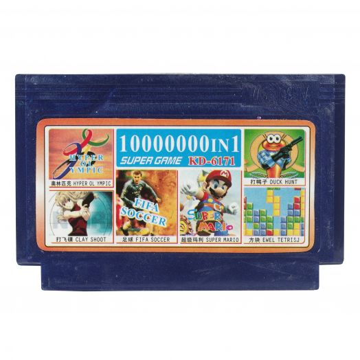 Dendy картридж 10000000 в 1 KD-6171