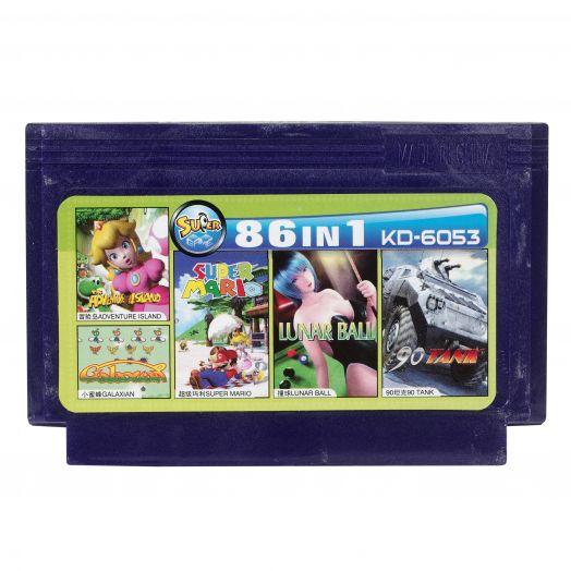 Dendy картридж 86 в 1 KD-6053