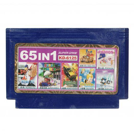 Dendy картридж 65 в 1 KD-6125