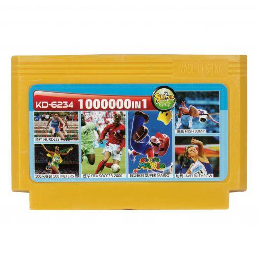Dendy картридж 1000000 в 1 KD-6234