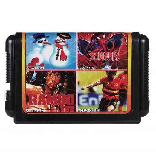 Sega картридж 4 в 1 КС-454