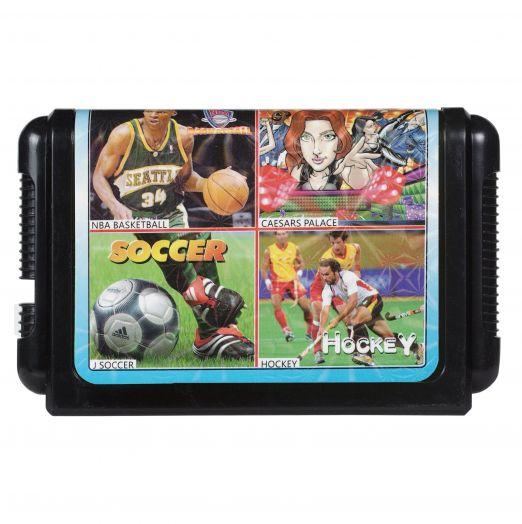 Sega картридж 4 в 1 КС-422