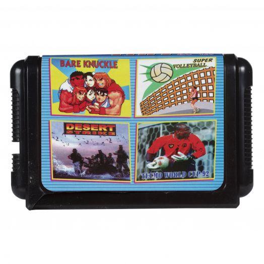 Sega картридж 4 в 1 КС-428