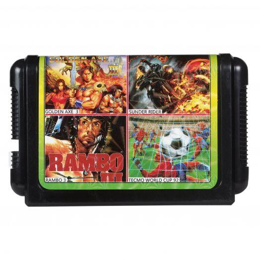 Sega картридж 4 в 1 КС-437