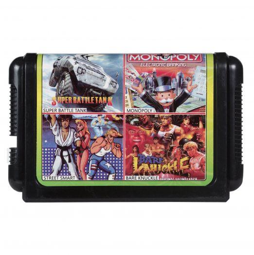 Sega картридж 4 в 1 КС-423