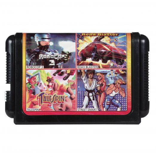 Sega картридж 4 в 1 КС-421