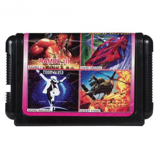 Sega картридж 4 в 1 КС-417
