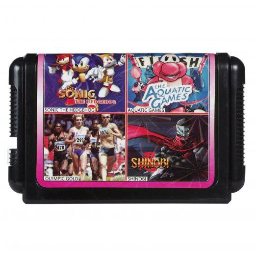 Sega картридж 4 в 1 КС-424
