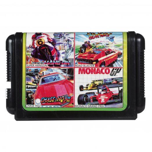 Sega картридж 4 в 1 DM-4018