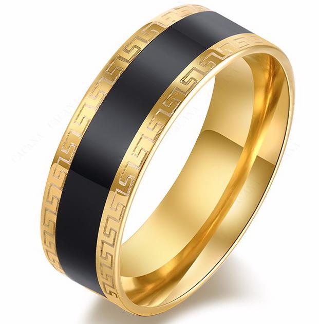 Кольцо с греческим орнаментом