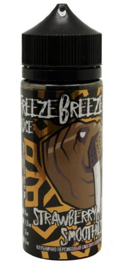 Жидкость FREEZE-BREEZE 120 мл Strawberry Peach Smoothies 3 мг/мл