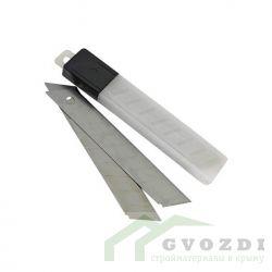 Лезвия к ножу строительному по гипсокартону , шириной 18 мм, набор.