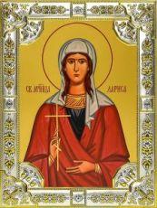 Лариса Готфская (18х24), серебро