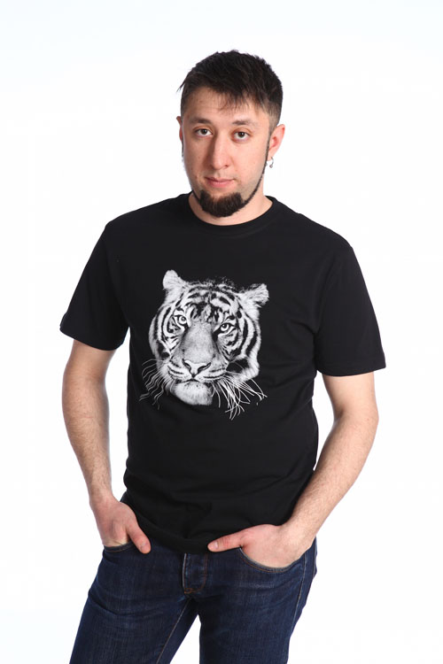 """Футболка мужская """"Тигр"""""""