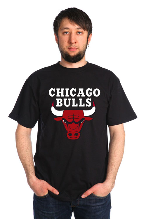 "Футболка мужская ""Чикаго Булс"""
