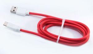 Кабель USB Hoco Type-C X11 с поддержкой быстрой зарядки 5A (1,2 метра) (white-red)