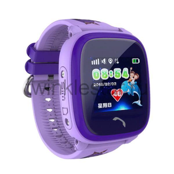 Умные детские водонепроницаемые часы Smart Baby Watch DF25G (GW400S) фиолетовый