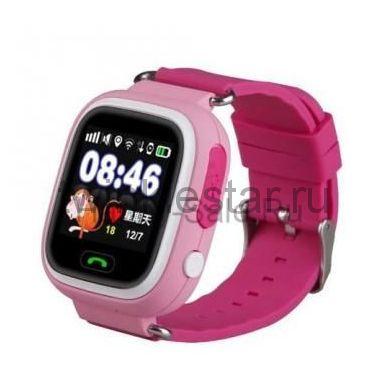 Умные детские водонепроницаемые часы Smart Baby Watch DF25G (GW400S) розовый