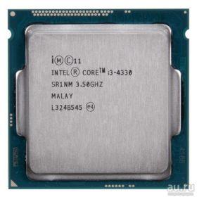 Процессор Intel Core i3-4330 Haswell (3500MHz, LGA1150, L3 4096Kb)