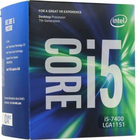 Процессор Intel Core i5-7400 Kaby Lake (3000MHz, LGA1151, L3 6144Kb) BOX