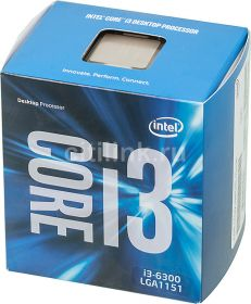 Процессор Intel Core i3-6300 Skylake (3800MHz, LGA1151, L3 4096Kb) BOX
