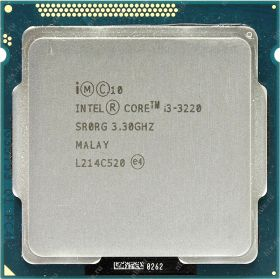 Процессор Intel Core i3-3220 Ivy Bridge (3300MHz, LGA1155, L3 3072Kb) OEM