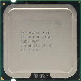 Процессор Intel Core 2 Quad Q9550 Yorkfield (2833MHz, LGA775, L2 12288Kb, 1333MHz)