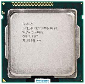 Процессор Intel Pentium G620 Sandy Bridge (2600MHz, LGA1155, L3 3072Kb)