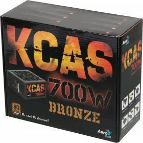 Блок питания  AeroCool KCAS-700W  80+ Bronze