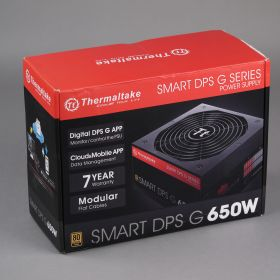 Блок питания Thermaltake SMART DPS G 650W SPG-650DH3CCG 80+ Gold