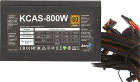 Блок питания  AeroCool KCAS-800W  800W 80+ Bronze