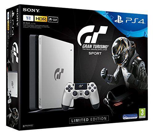 Sony PlayStation 4 Slim 1 ТБ Gran Turismo Sport Special Edition ( 4.05 - 4.55 )