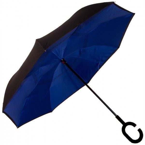 Зонт наоборот UPBRELLA, Фиолетовый однотонный
