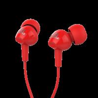 Наушник JBL C100SIU красные