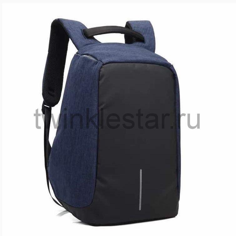 Рюкзак-антивор синий