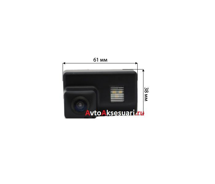 Камера заднего вида для Peugeot (407 SW) 2004-2010