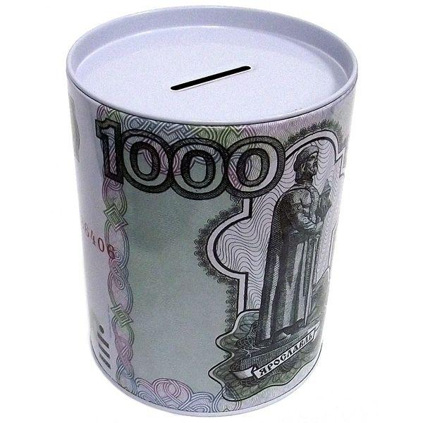 Копилка банка 1000 руб