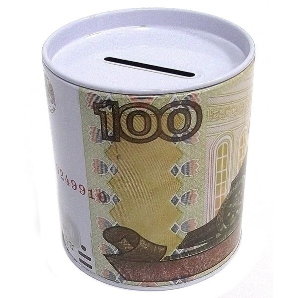 Копилка банка 100 руб