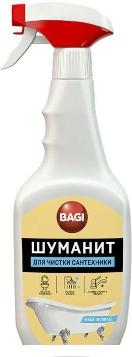 Баги Шуманит для чистки сантехники, 500 мл