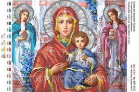А4Р_023. Божья Матерь И Иисус Александр Охапкин А4 (набор 650 рублей) Virena