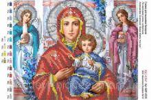 А4Р_023. Божья Матерь И Иисус Александр Охапкин А4 (набор 550 рублей) Virena