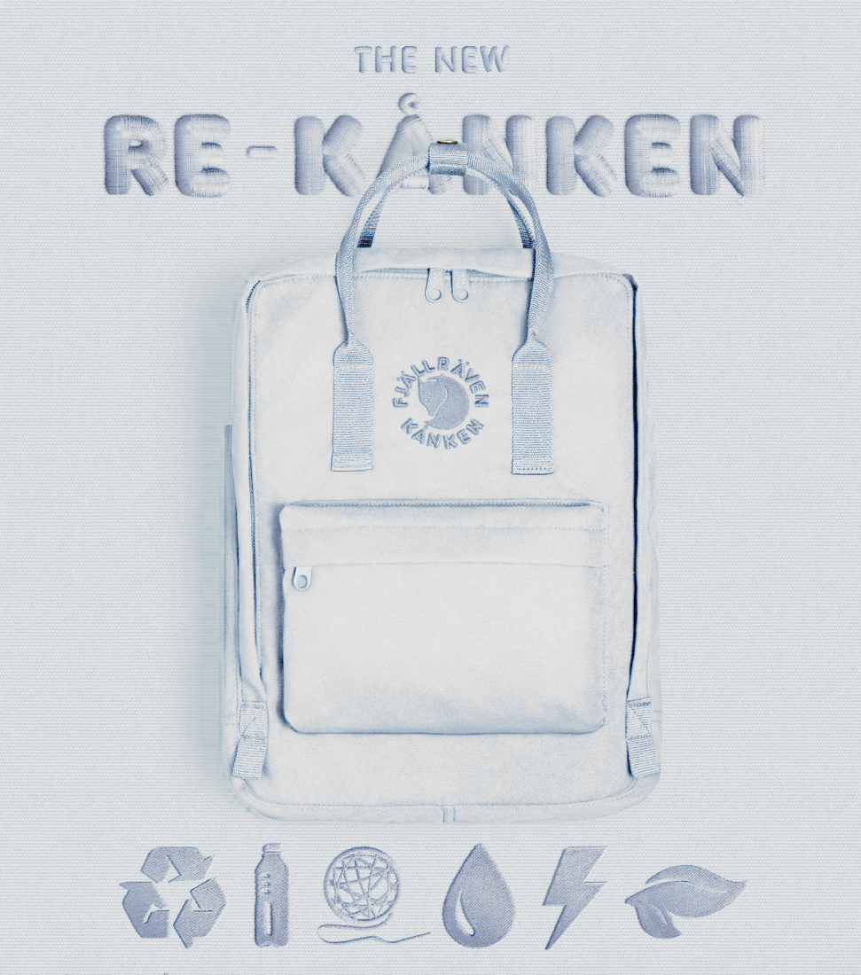 Рюкзак Fjallraven Re-Kanken (светло-серый)
