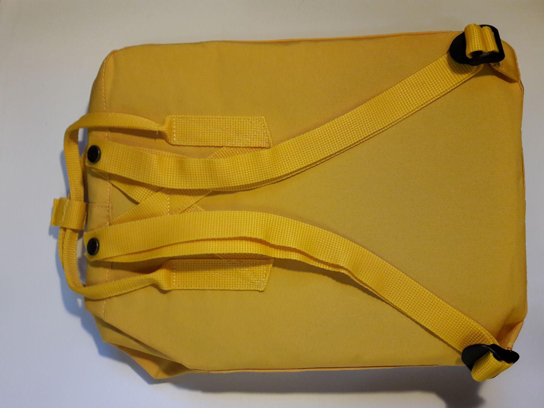 Fjallraven Re Kanken Sunflower Yellow 142 Classic