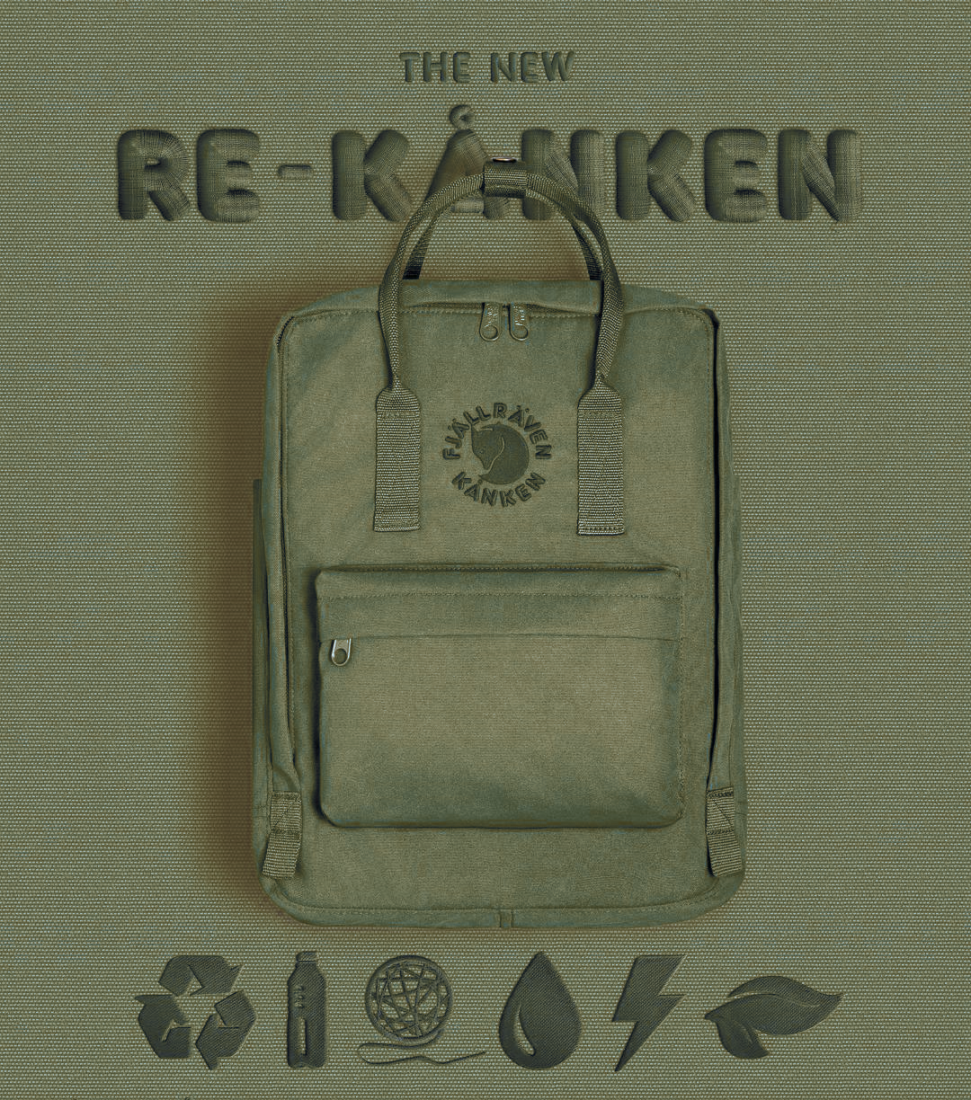 Рюкзак Fjallraven Re-Kanken (Green)