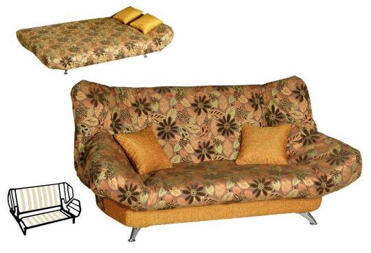 Диван клик-кляк Орифия с подушками
