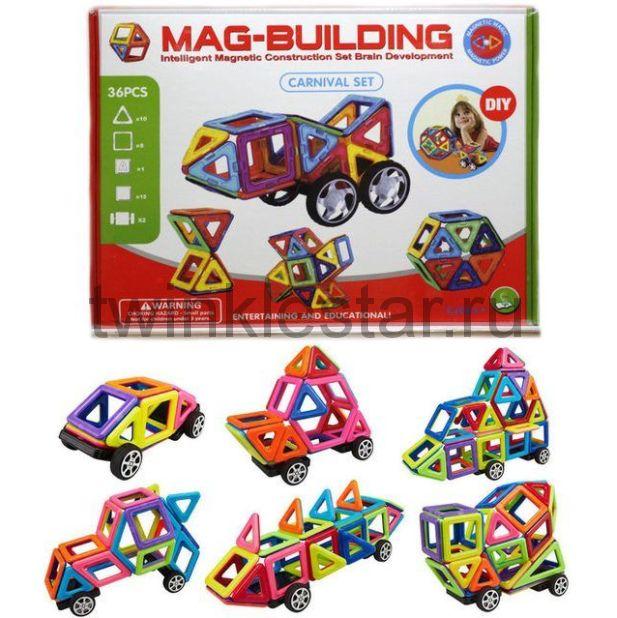 Магнитный конструктор MAG BUILDING 48 деталей