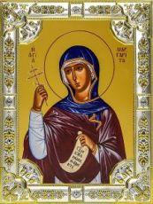 Маргарита Антиохийская (18х24), серебро