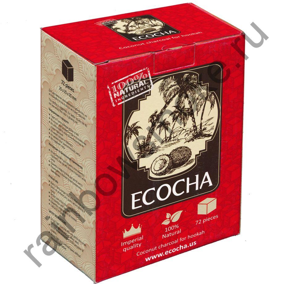 Уголь для кальяна Ecocha (72 шт)