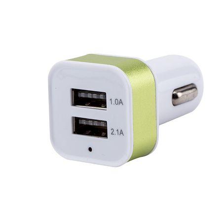 ЗУ в прикуриватель на 2 гнезда USB Орбита AV-330*